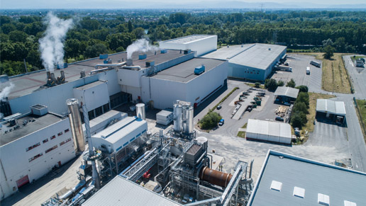 Onsite waste-to-energy plant has been put into operation at